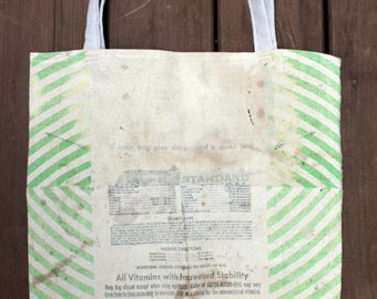 Grainsack Market Bag - Heavy Cotton Tote Bag - Market Tote - Eco Grocery Bag - Reusable Shopping Bag