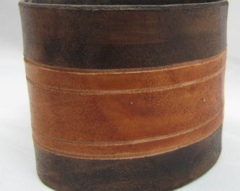 Leather Cuff - Surf Cowboy