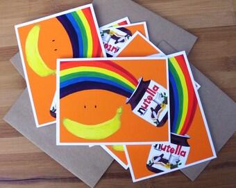 Birthday Card, Nutella Lover, Best Friend Birthday Card, Happy Birthday Card, Foodie, Awesome Birthday Card, For Boyfriend, For Girlfriend