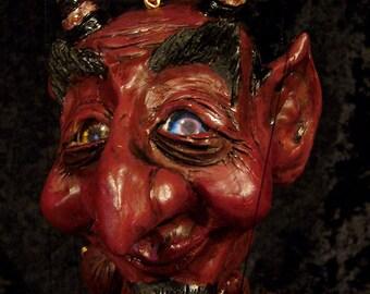 Large Devil Marionette MADE-TO-ORDER
