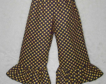 LSU Ruffle Pants or Shorts / Purple & Gold / Geaux Tigers / LSU Baby / Game Day / Newborn / Baby / Girl / Toddler/ Custom Boutique Clothing