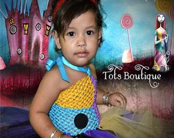 Toddler- Sally Nightmare Before Christmas Inspired Tutu