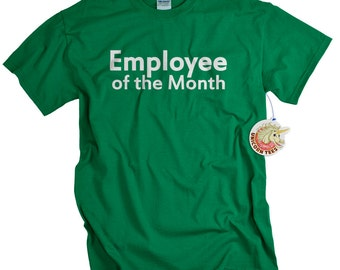 Mens funny tshirt office workplace guys t shirt geek humor gag gift for co-worker employee of the month gift for friend boyfriend husband