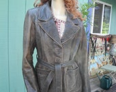 RESERVED for Teri...Bohemian Leather Jacket...Distressed Leather...Evolving Bliss