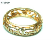 Vintage women's quality fashion 14k 14ct yellow gold plated ring new size 5 6 7 8 9 10, gold plated ring, 14k gold ring, yellow gold ring