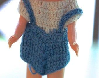 Hard Plastic Dress Me Doll
