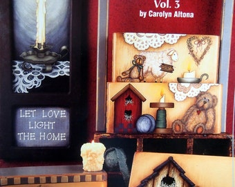 Heart Of The Home Vol. 3 By Carolyn Altona Tole And Decorative Painting Book 2000