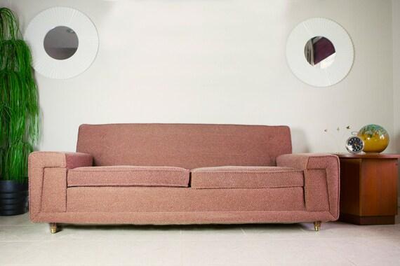 Vintage Mid Century Modern Kroehler Sofa Vintage 1950 S
