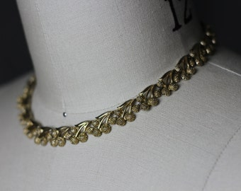 Golden Grape Costume Jewellery Necklace
