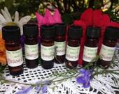 Essential Oils 1 Dram Vials Different Oils Including Myrrh, Jasmine, Frankincense,  Neroil, Geranium and Many More! A-R
