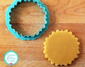 The Anne Plaque Cookie Cutter and Fondant Cutter