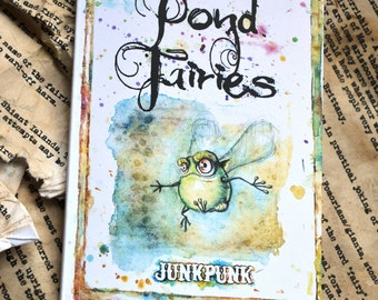 An illustrated Guide to Pond Faeries- Magical fantasy art fairy book