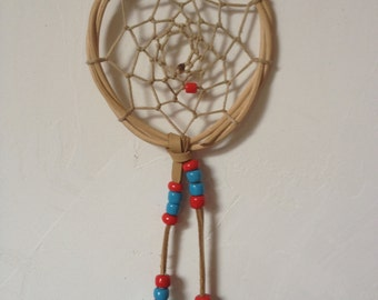 Dream catcher  blue and red ref: DC 140523