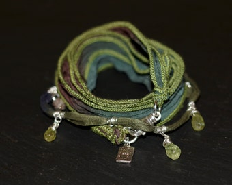 Calm Spirit/Warrior Wrap/bracelet/necklace
