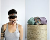 Custom Made Recycled Fabric Headband BEST SELLER! Looks Great With Short Hair!!