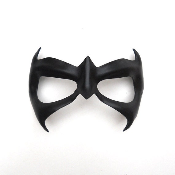 nightwing leather mask first night adults children by lmemasks. Black Bedroom Furniture Sets. Home Design Ideas
