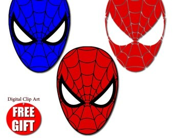 Lollipop clipart chocolate lollipop invitation candy lollipops digital clip art spiderman mask superhero party masks clipart printable mask spider man birthday spiderman party stopboris Image collections