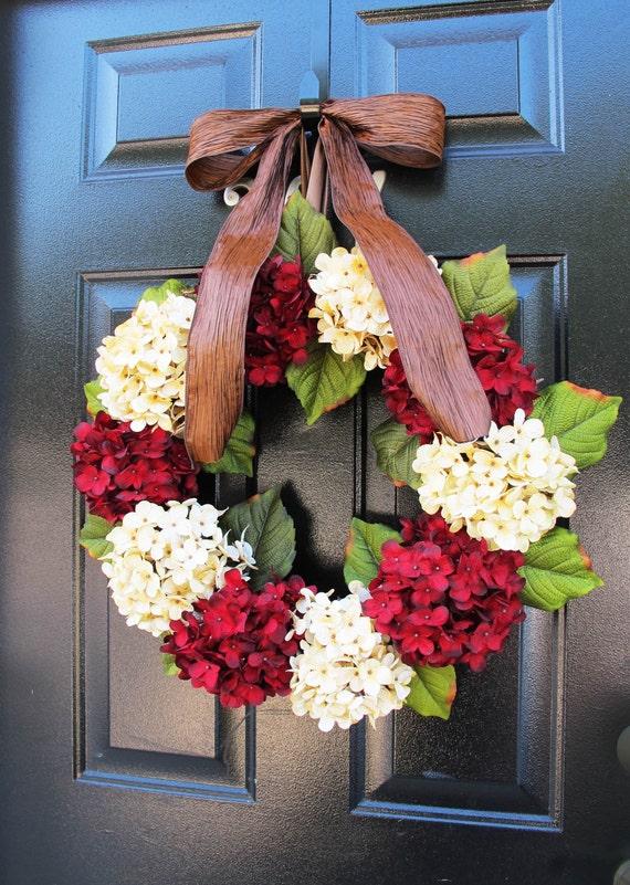 christmas wreaths for sale holiday door decor by woodandburlap. Black Bedroom Furniture Sets. Home Design Ideas