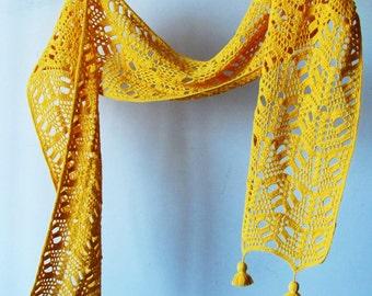 Dunes scarf PDF Crochet Pattern