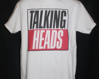 brand new * talking heads true stories t-shirt punk indie rock david byrne new wave vtg 80s *  Available in Small, Medium, Large or XL.