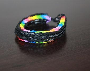 Long cross fishtale bracelet