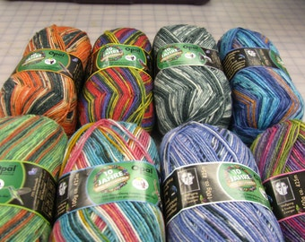 Opal Sock Yarn Rainforest # 10 / FREE US POST / ask for your coupon for 20% off any 129 dollar purchase