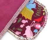 Organic Daypad Moonpads Reusable Cloth Menstrual Pads - Forest Creatures