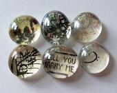 VENTE - Dernière Chance - veux-tu m'épouser - aimants en marbre
