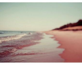 Nature Photography - Landscape Photograph - Michigan Art - Summer Decor - Nautical Decor - Be Here - Blue Art - Beach Decor - Alicia Bock