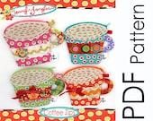 PDF Jennifer Jangles Coffee Zip Sewing Pattern