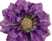 Princess in Plum (CLEARANCE) - Dog Collar Flower