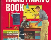 Better Homes and Gardens Handyman's Book Easy Guide to Home Maintenance - 1973 - Vintage Book