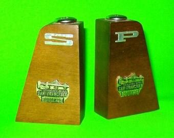 San Francisco Golden Gate Bridge Souvenir Salt and Pepper Shakers