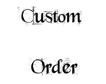 Custom Order - Gene - Custom 12mm Cabochon