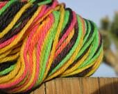 Worsted Weight Yarn - Merino Wool - Rastafari