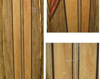 Decorative Wooden Surfboard Wall Art for a Hotel, Restaurant, Island or Beach Decor, Hawaii Decor, Coastal Theme Decor  - 4 Sizes available