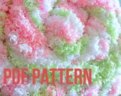 Plush Baby Blanket Pattern - An Easy Plush Knitting Pattern - Perfect Baby Shower Gift - PDF Download