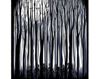 Simon Says - Screenprinted Art Print