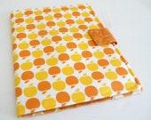 Apple Print iPad 1 Cover Orange and Yellow Apples