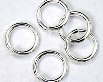 6mm Silver Jump Ring 21g #RJB002