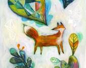 Fox Treasure Giclee Print
