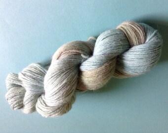FIRMAMENT-  100% alpaca kettle dyed skein of DK knitting yarn (270 yards)- so soft!