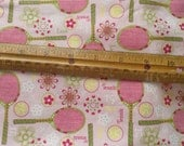 1/2 yard pink tennis fabric discontinued from Joann's quilting weight