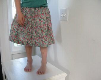 Floral Liberty Skirt