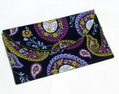 Paisley Passion Snap Clutch Snap Pouch