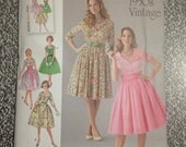 Simplicity 1459 U5 1950s vintage reproduction dress sewing pattern - size 16, 18, 20, 22, 24