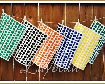Custom Polka Dot Stickers - Custom Polka Dot Decals - Custom Vinyl Polka Dots - Custom Color Polka Dots - Custom Color Vinyl Polka Dot Sheet