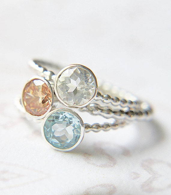 custom stacking rings create your own stacking by