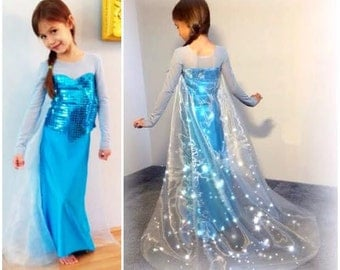 SALE reg. 12.99 Modest Elsa inspired gown PDF printable
