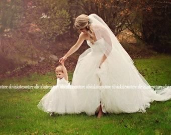 Flower Girl Floor Length Dress Baby